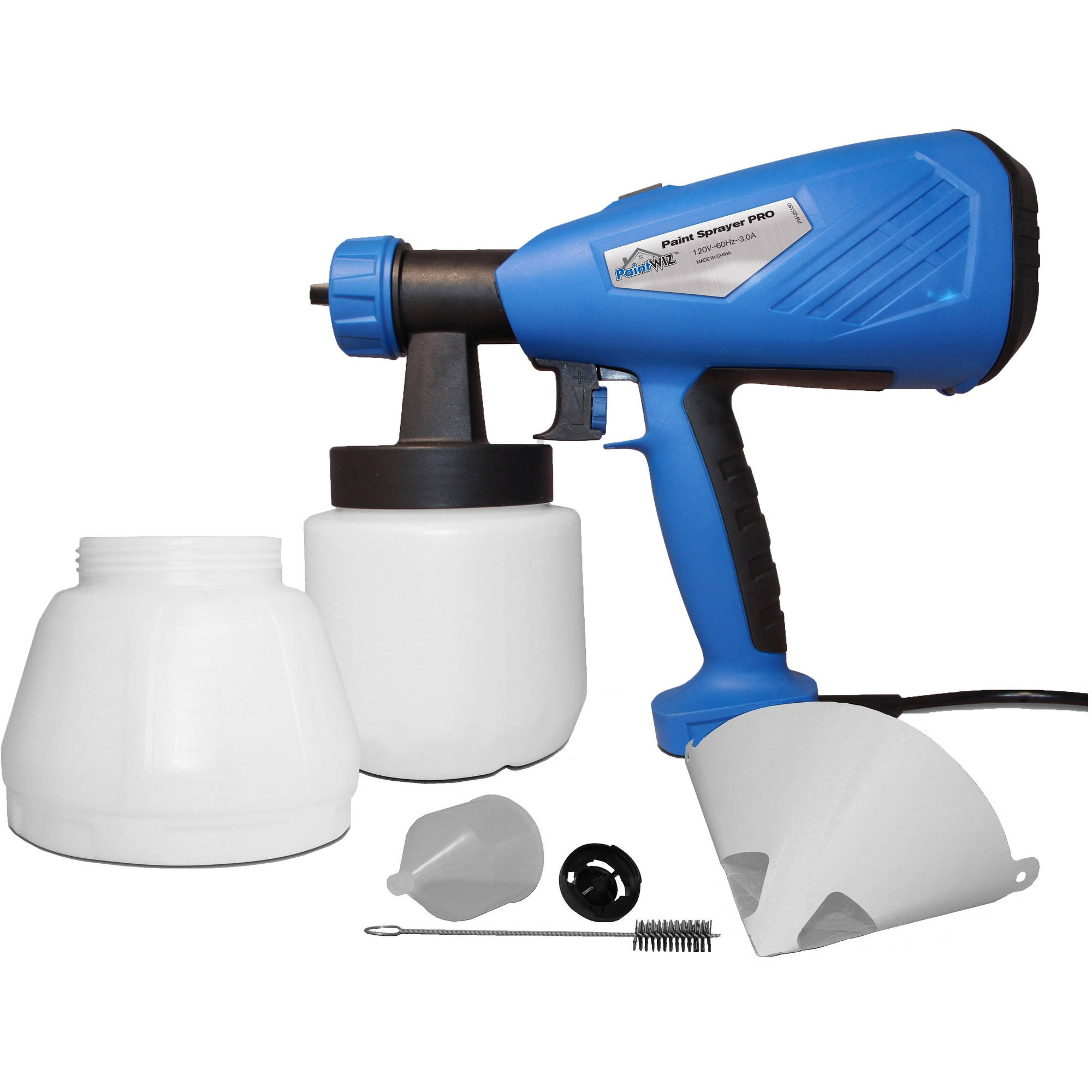 PaintWIZ HandHeld Paint Sprayer PRO, PW25150 HVLP Spray Gun Spray System