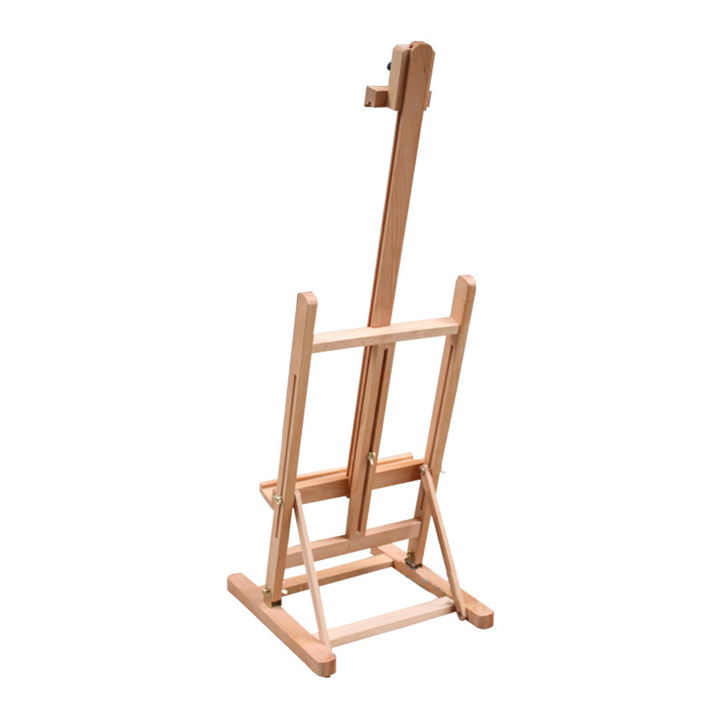 "Zimtown 42"" to 69"" Height Adjustable Easel Stand, Folding Portable Beechwood H Frame Deluxe Studio Easel, for Artist Drawing, for Studio Painting Display - image 5 of 9"
