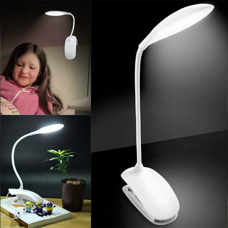 LED Reading Light, EEEkit 14 LED Flexible Reading Light Clip-on Clamp Bed Table Desk Lamp Touch Sensor for Home Office Child