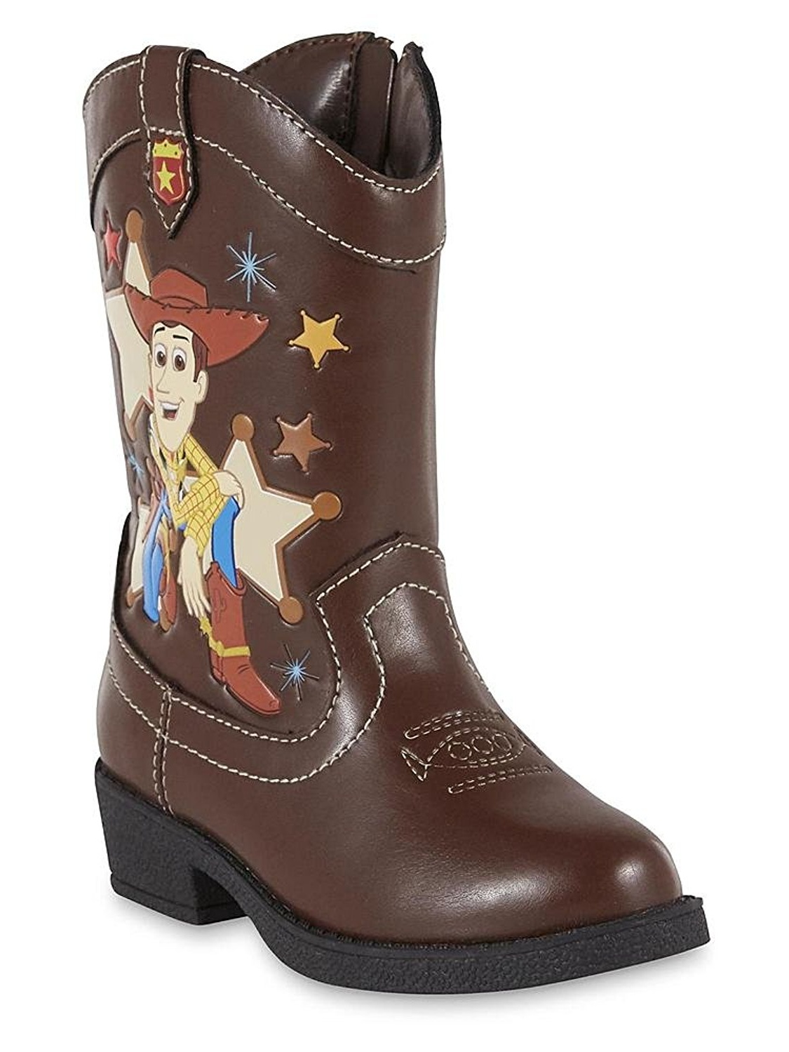Disney/'s Toy Story Sheriff Woody Toddler Boys Boots Shoes SIZE 5, 6 or 10 NEW!