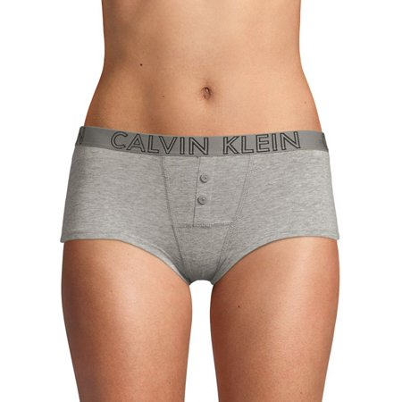 Buttoned Logo Boyshorts Calvin Klein Classic Panties