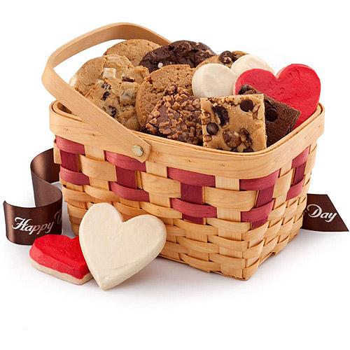 Mrs. Fields Valentine's Gift Basket