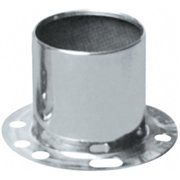 TOPLINE WHL C128 4.25 In. Wheel Center Cap, Silver