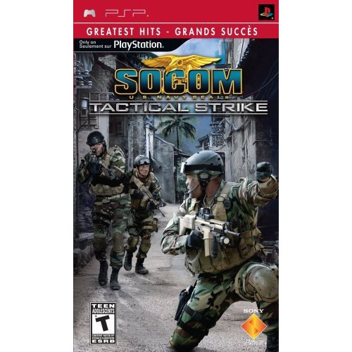 SOCOM: Tactical Strike Greatest Hits (PSP)