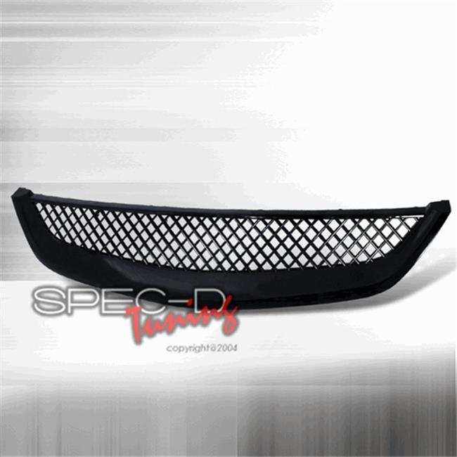 Type R Style Front Hood Grille for 01 to 03 Honda Civic, 5 x 18 x 33 in.