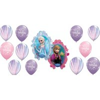 Disney Frozen Supershape Birthday Balloon Decoration 13 Piece Set