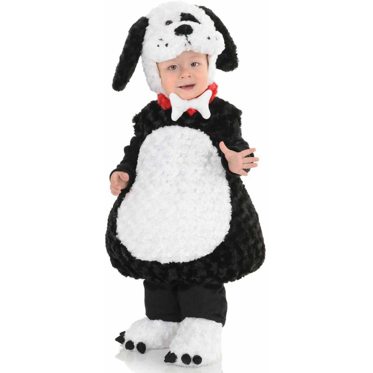 Black and White Puppy Boys' Toddler Halloween Costume