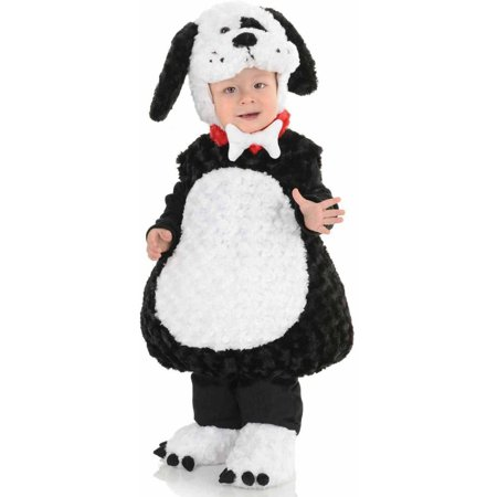 Black and White Puppy Boys' Toddler Halloween - Puppy Dog Halloween Makeup