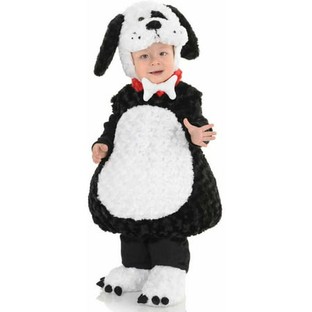 Xxs Puppy Halloween Costumes (Black & White Puppy Toddler Halloween)