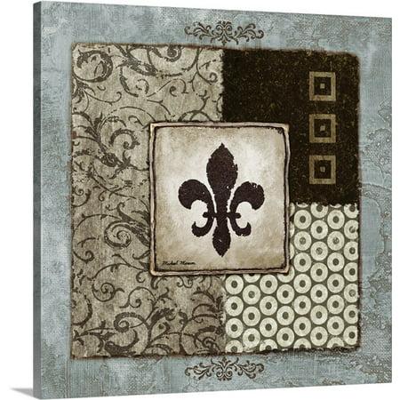 Great BIG Canvas Michael Marcon Premium Thick-Wrap Canvas entitled Fleur de Lis I
