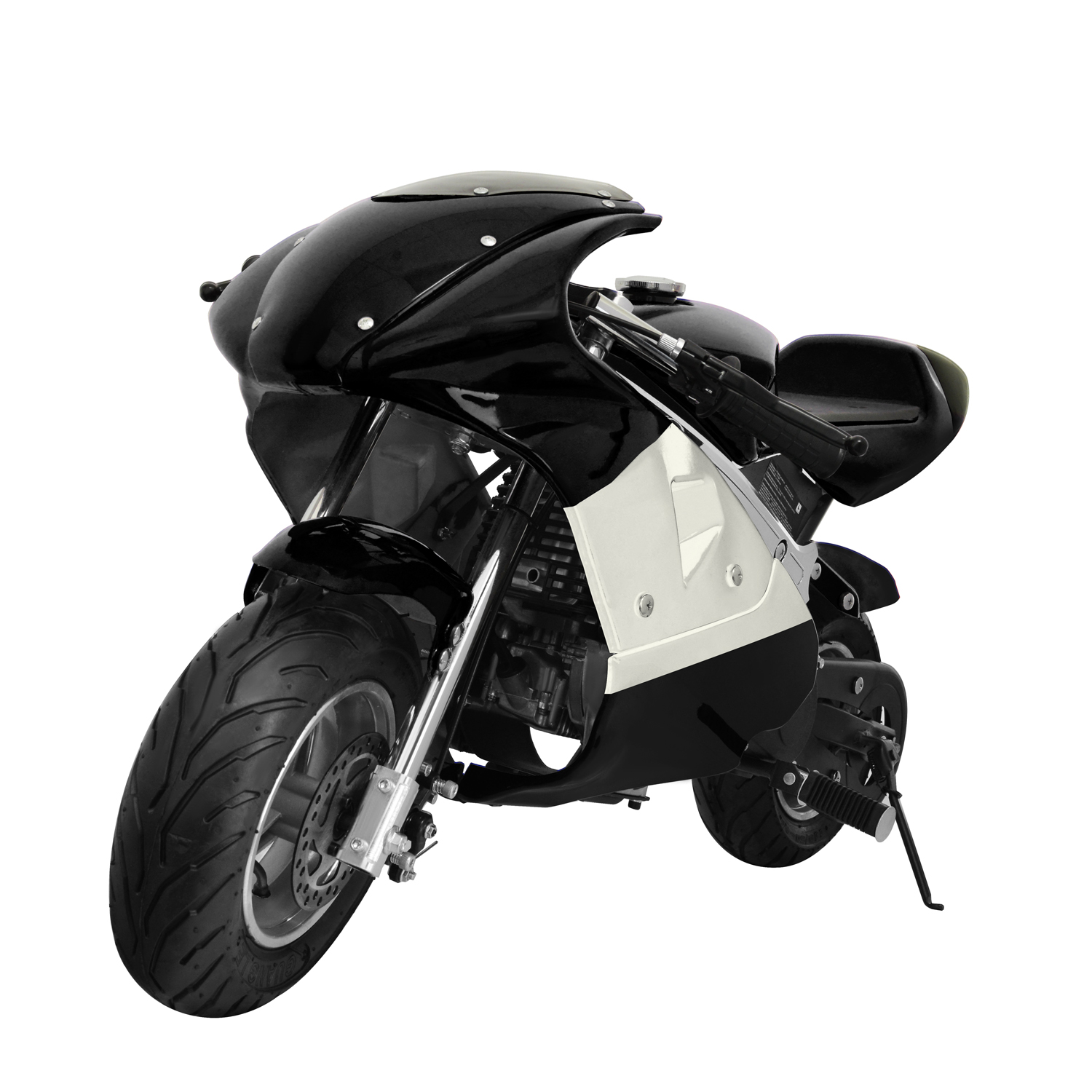 """KingSports Black 40cc Gas Mini Pocket Bike Off-Road Motorcycle 45""""x24"""" 4-Stroke Ride-on Toy... by Luyuan, Inc."""