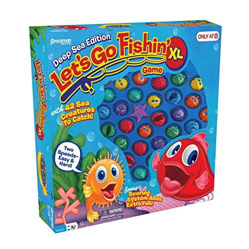 Lets Go Fishin XL: Deep Sea Edition Exclusive by Pressman Toy by Pressman Toy