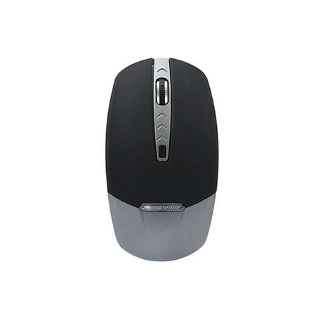 - VicTsing Wireless Bluetooth Mouse LED Light Ergonomic Mouse Optical Mouse for Laptop PC (Silver)