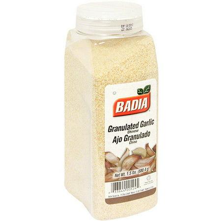 Badia Garlic Powder (Badia Granulated Garlic, 24 oz (Pack of 6) )
