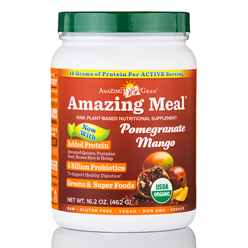 Amazing Meal Pomegranate Mango Infusion Powder - 16.2 oz (462 Grams) by AmaZing