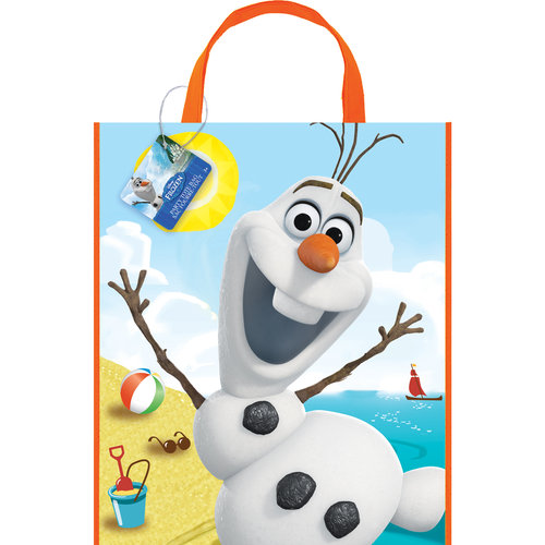 Disney Frozen Olaf Large Plastic Favor Bag