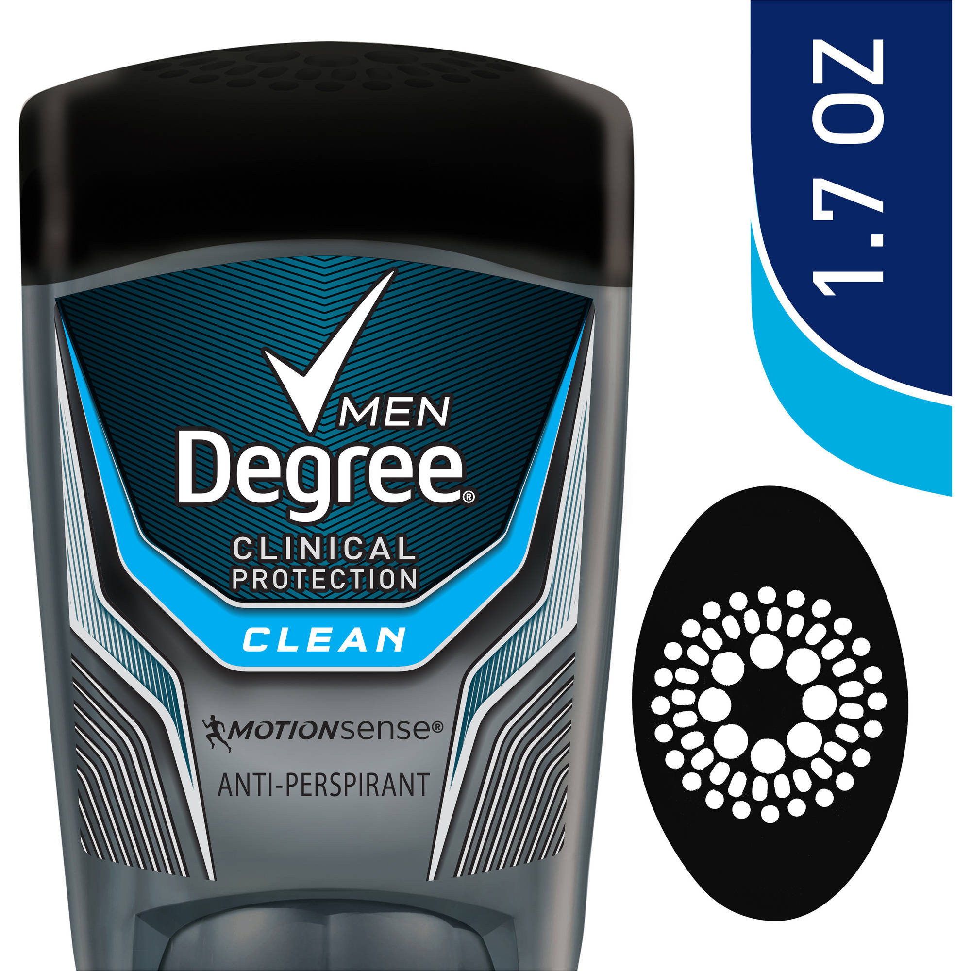 Degree Men Clinical Clean Antiperspirant Deodorant, 1.7 oz