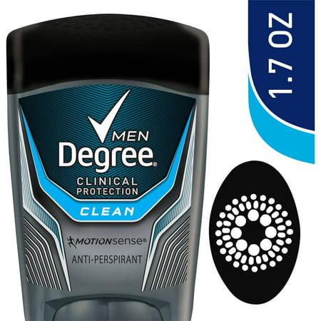 Degree Men Clinical Clean Antiperspirant Deodorant  1 7 Oz