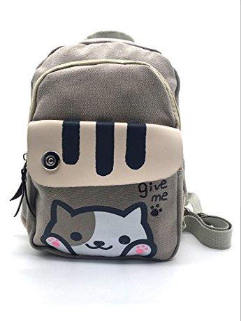 6b9a5a5c447a Maggift Cute Cat School Backpack Single Daypack Shoulders Bag ...