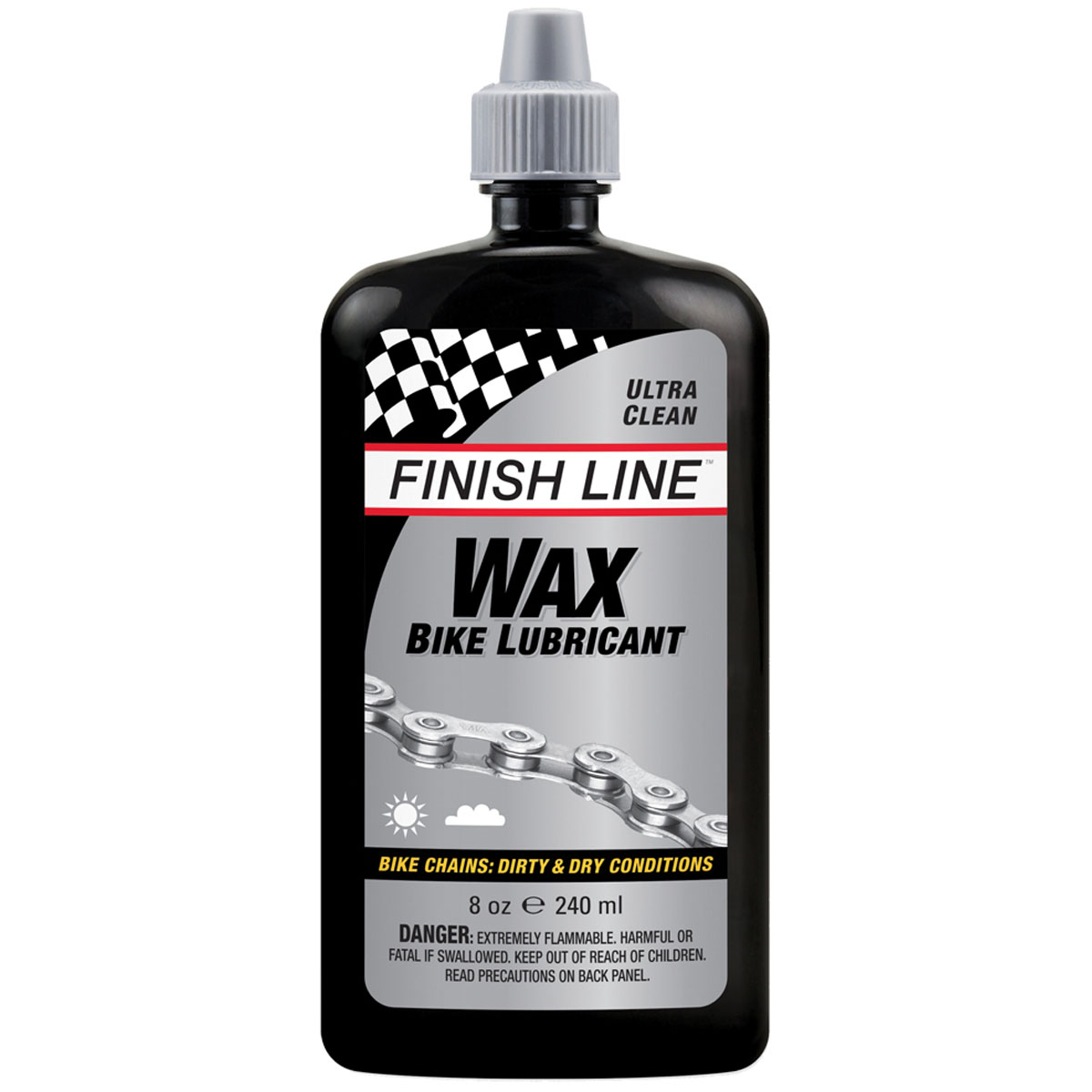 Finish Line Wax Bike Lubricant - 8oz Drip - KL0080101