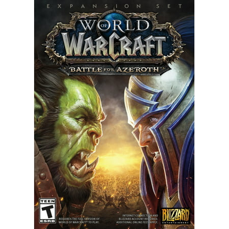 World of Warcraft: Battle For Azeroth, Blizzard Entertainment, PC, (Magi Nation Battle For The Moonlands Game)