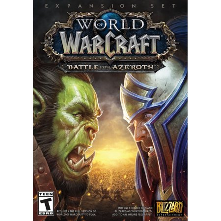World of Warcraft: Battle For Azeroth, Blizzard Entertainment, PC, (Games Like World Of Warcraft For Mac)