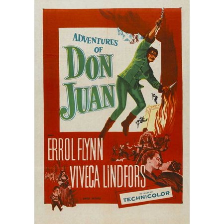 The Adventures of Don Juan - movie POSTER (Style A) (27
