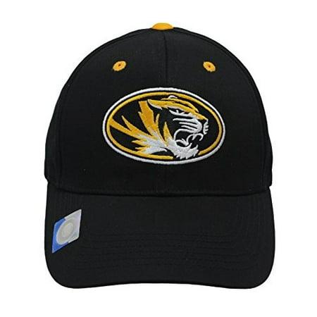 Embroidered Tiger (Captivating Headgear Men's Champ Fashion Missouri Univ. Tigers Embroidered)