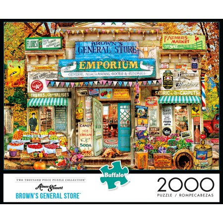 Buffalo Games - Aimee Stewart - Browns General Store - 2000 Piece Jigsaw Puzzle
