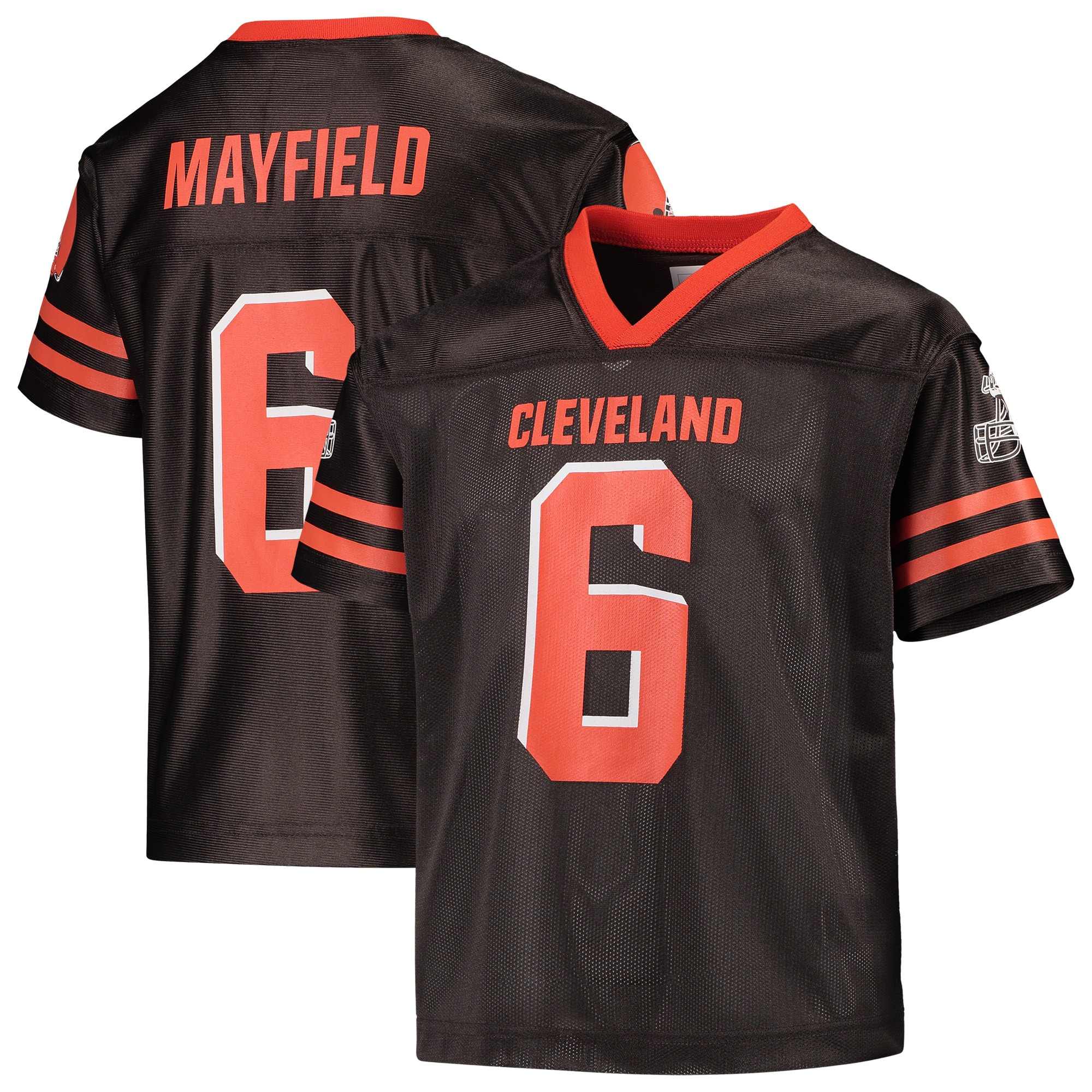 Youth Baker Mayfield Brown Cleveland Browns Replica Jersey - Walmart.com