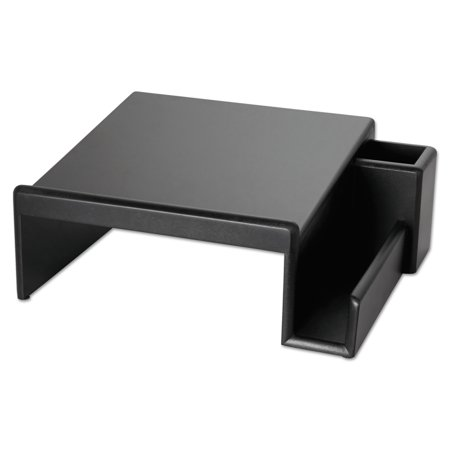 Rolodex Wood Tones Phone Center Desk Stand  12 1 8 X 10  Black