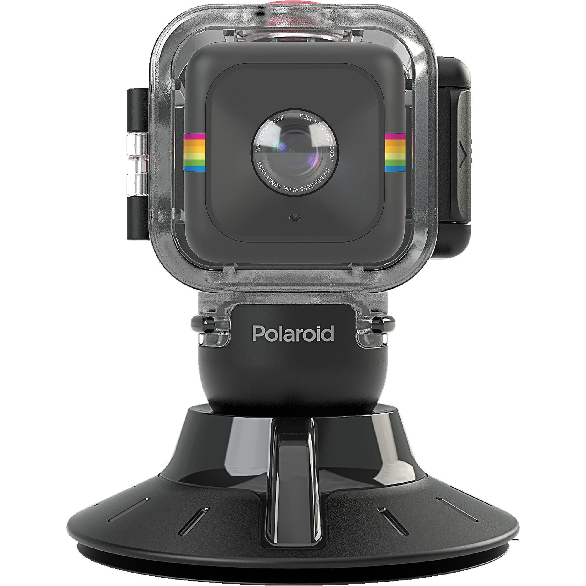 Polaroid CUBE Waterproof Case Suction Mount by Polaroid