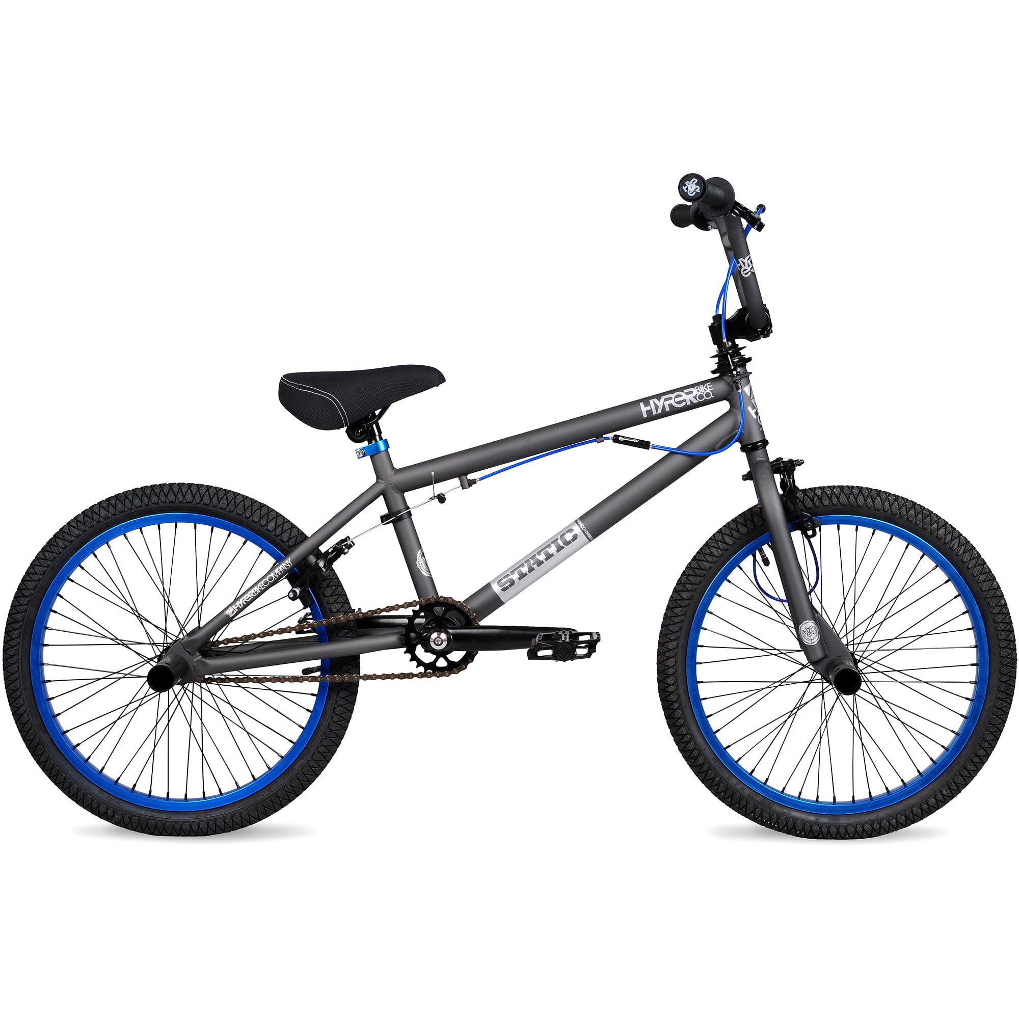 "20"" Hyper Static Boys' BMX Bike, Grey"