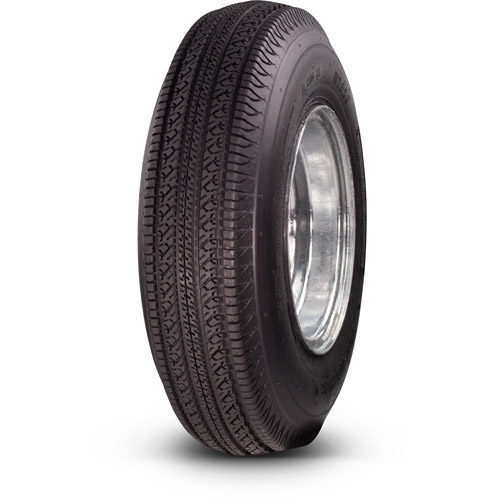 Greenball Towmaster 4.80-8 6-Ply Bias Trailer Tire and Wheel Assembly, 5-on-4.5 Bolt Pattern, Galvanized