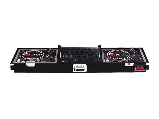 Odyssey Cases CDJ19P New Medium Duty Pro Carpeted DJ Turntable   Mixer Coffin by Odyssey Cases