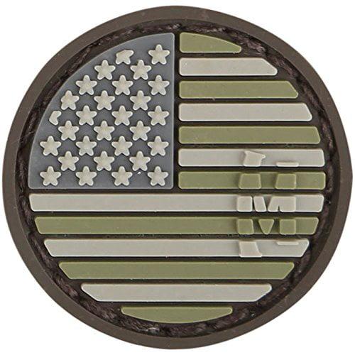 USA Flag Micropatch Arid