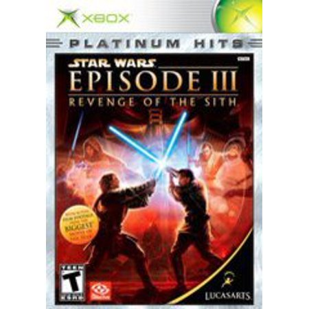 Star Wars Revenge of the Sith - Xbox (Star Wars Revenge Of The Sith Game)