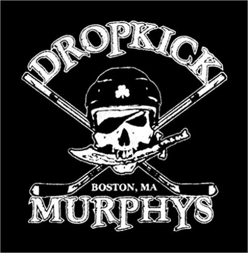 DROPKICK MURPHYS HOCKEY SKULL PIRATE SEW//IRON ON PATCH NEW