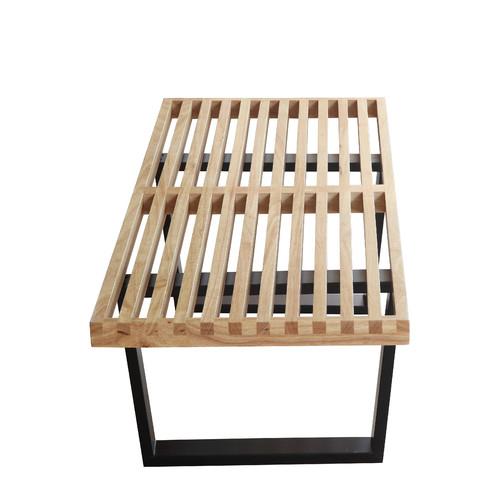 Fine Mod Imports Wood Bench