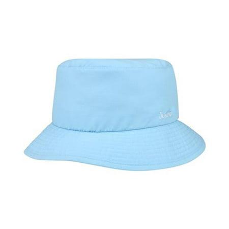 91f3db840 juniper j7248 womens microfiber uv bucket hat, baby blue - small & medium