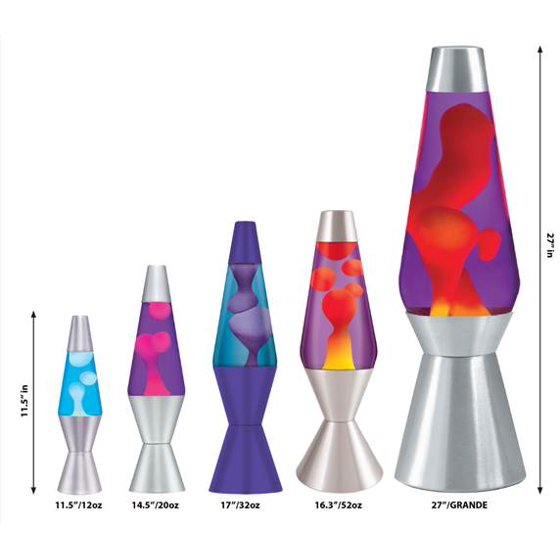 What's Inside A Lava Lamp Impressive Lava The Original 6060Inch Silver Base Lamp With Purple Wax In