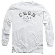 CBGB Club Logo Mens Long Sleeve Shirt