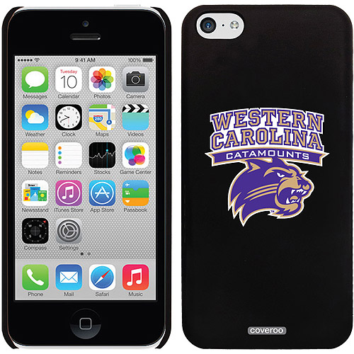 Western Carolina Primary Mark Design on iPhone 5c Thinshield Snap-On Case by Coveroo