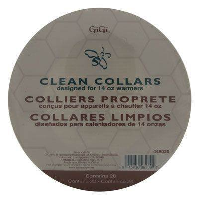 Wax Warmer Clean Collars