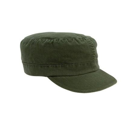 Rothco Women's Adjustable Vintage Fatigue Caps - Olive Drab (Vintage Military Fatigue Cap)