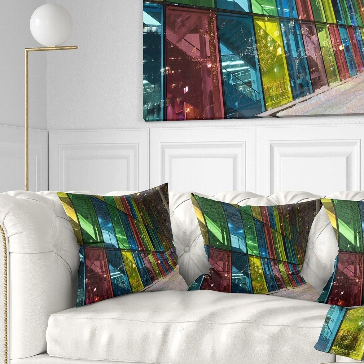Design Art Designart Palais Des Congress De Montreal Modern Throw Pillow Walmart Com Walmart Com