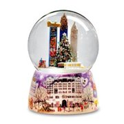 NYC Bergdorf Goodman Water Globe Multi-Colored