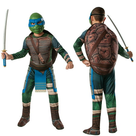 Boys Ninja Turtles Leonardo Costume - Squirt The Turtle Halloween Costume