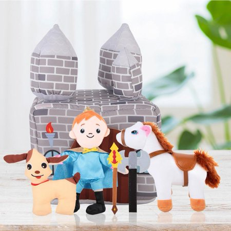 LHCER Cute Doll,Cute Cartoon Plush Toy Baby Kids Early Education Doll Set, Plush Toys - image 8 de 8