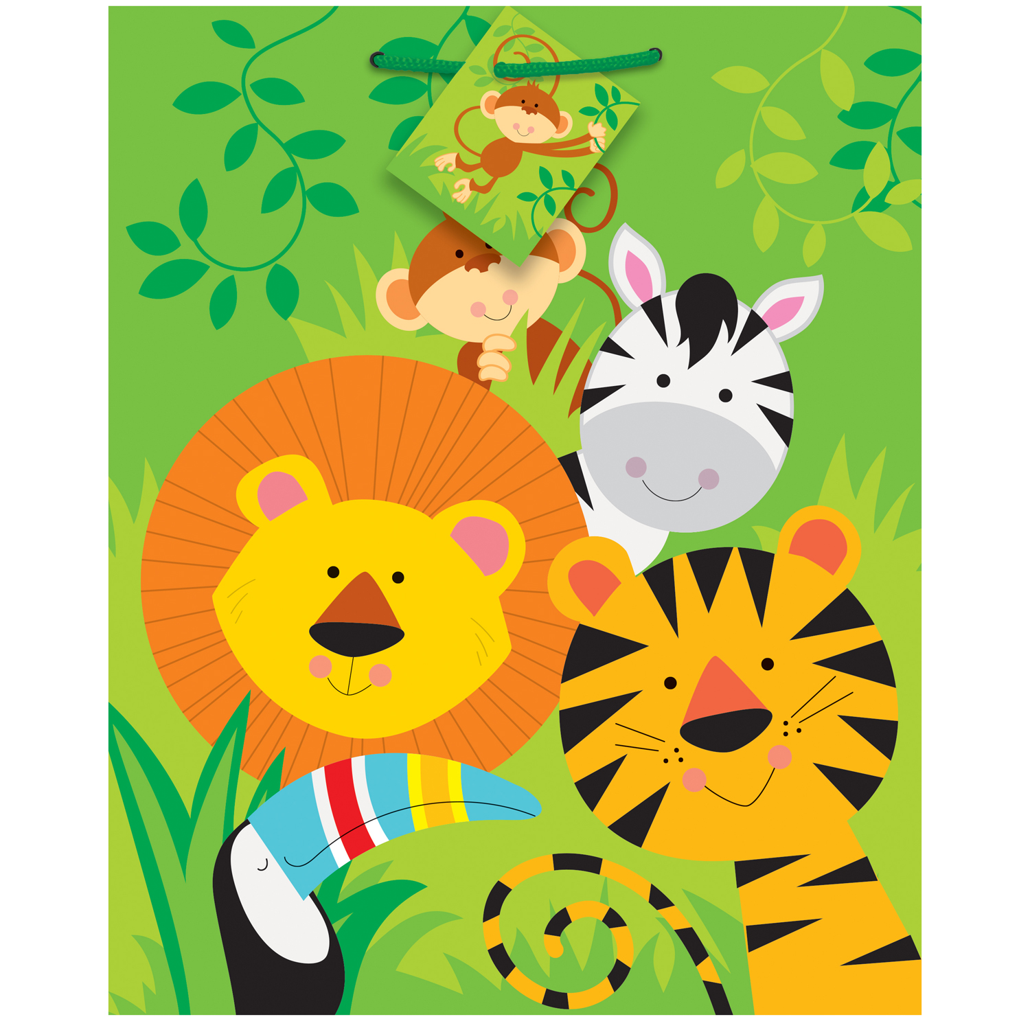 Animal Jungle Party Supplies - Walmart.com